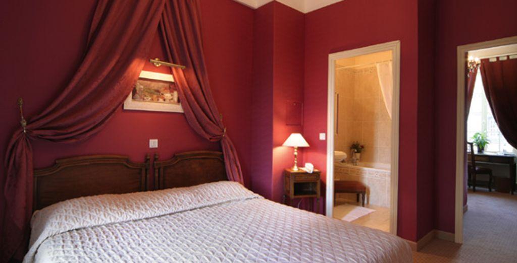 Vous logerez en chambre Château