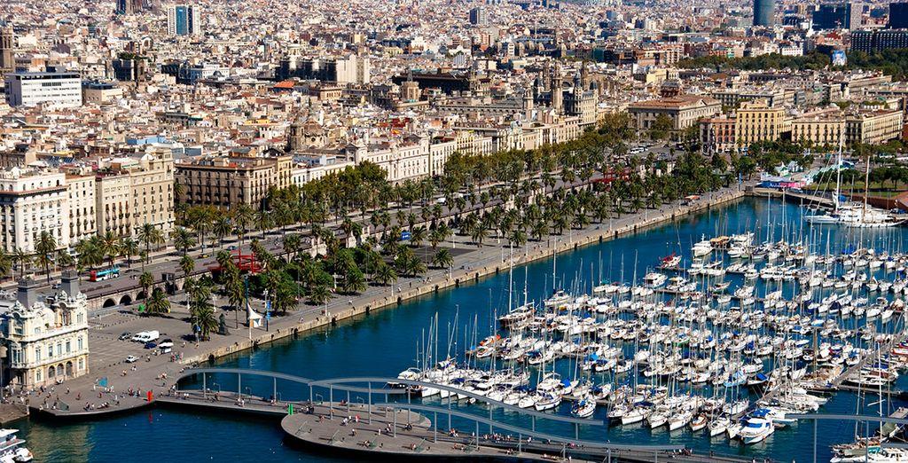 Les délices de Barcelone s'offrent à vous