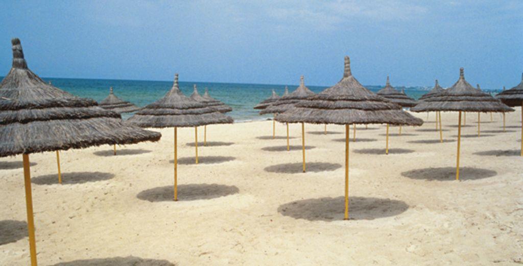 Djerba la douce et ses plages de sable fin
