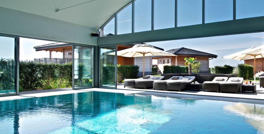 Bienvenue dans une oasis de bien-être - Jiva Hill Park Hotel & Spa ***** Crozet