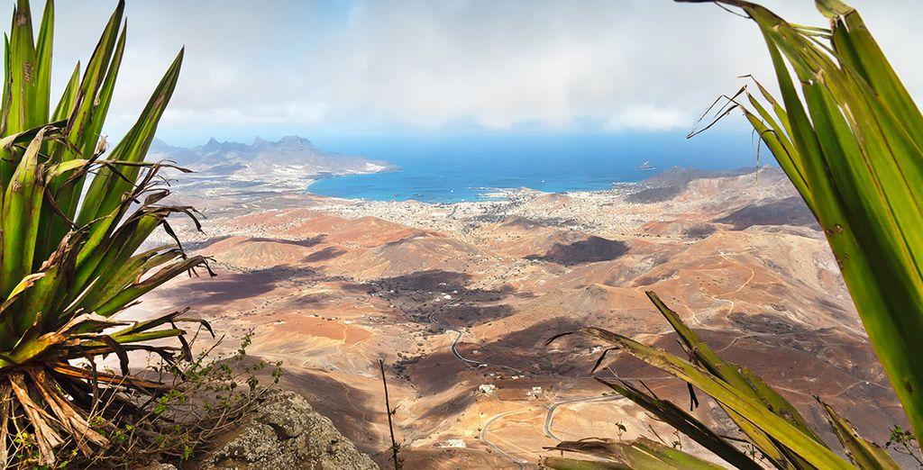Profitez aussi de la superbe vue depuis le Monte Verde...