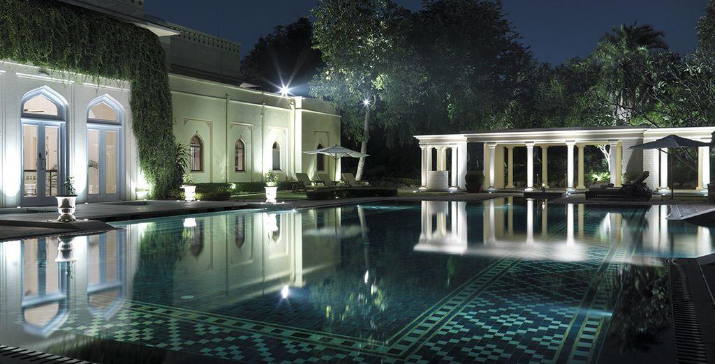 Vous séjournerez au Taj Rambagh Palace de Jaipur