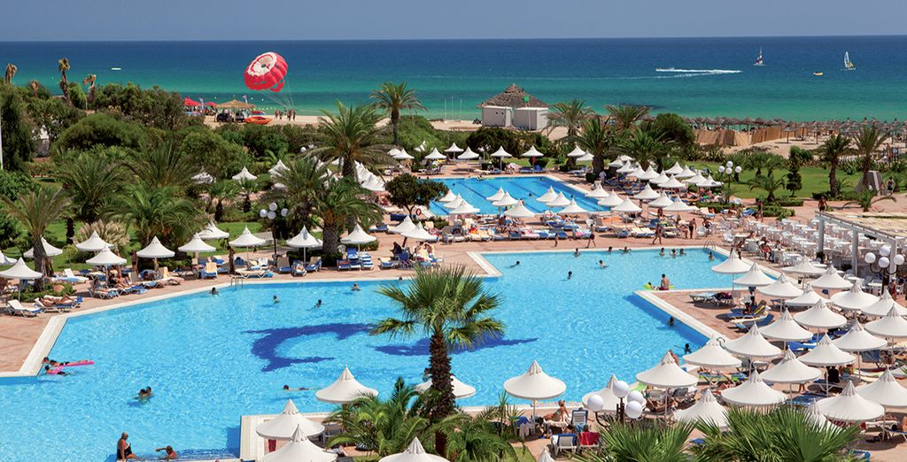 Bienvenue à Hammamet, sur les bords de la Méditerranée ! - Riu Marillia 4* Hammamet