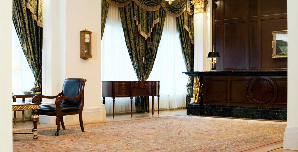 Atmosphère cosy et mobilier d'époque