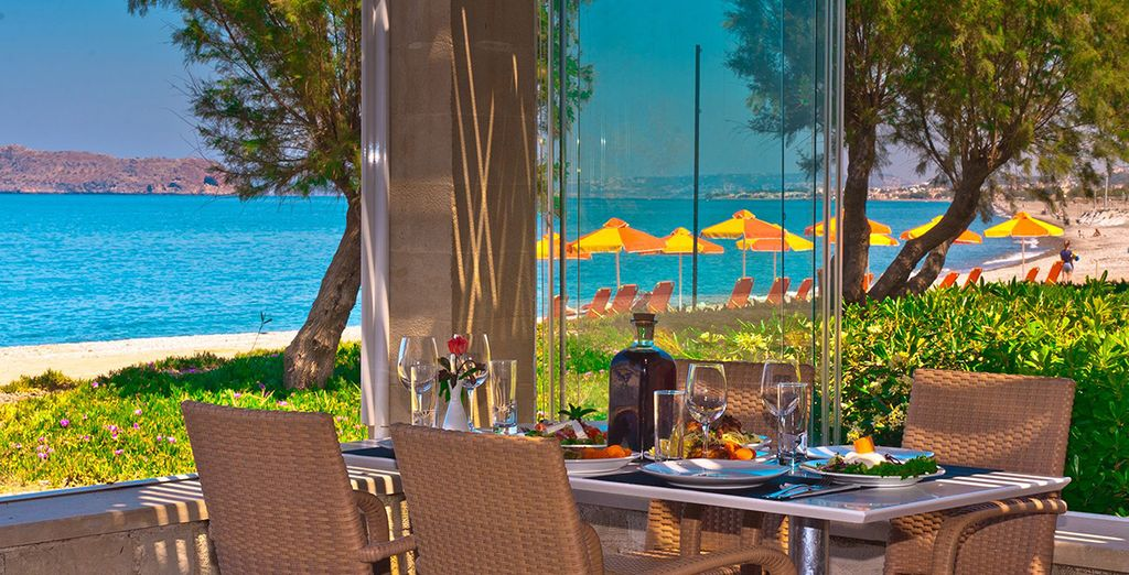 Un hôtel 4* au charme crétois en bord mer...