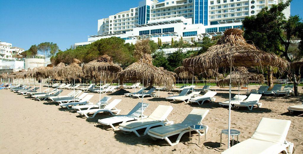 Dans ce petit coin de paradis de la région Egéenne, vous serez face à la mer... - Onyria Claros Hotel 5* Izmir