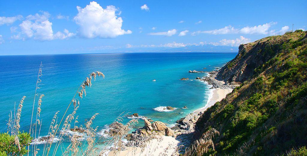 Et les magnifiques plages de la Calabre