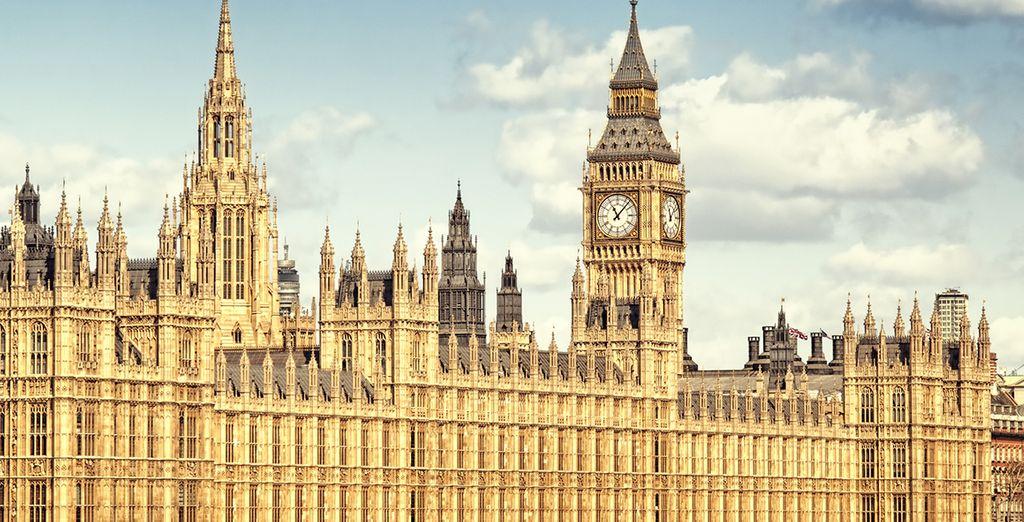 Admirez le Parlement et Big Ben