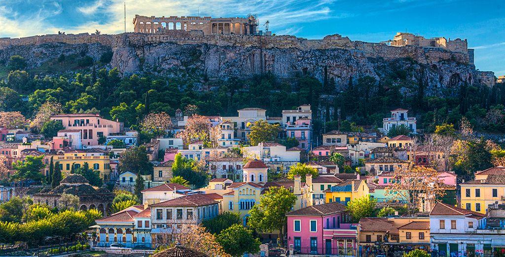 Puis partez à la rencontre d'Athènes, trésor culturel