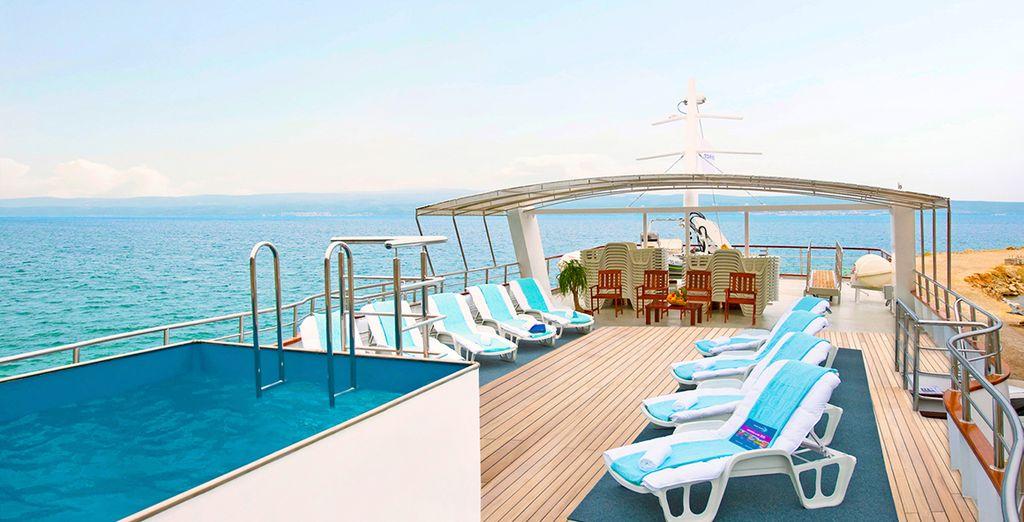 Embarquez pour une croisière de star sur un yacht - Croisière en yacht en Croatie :
