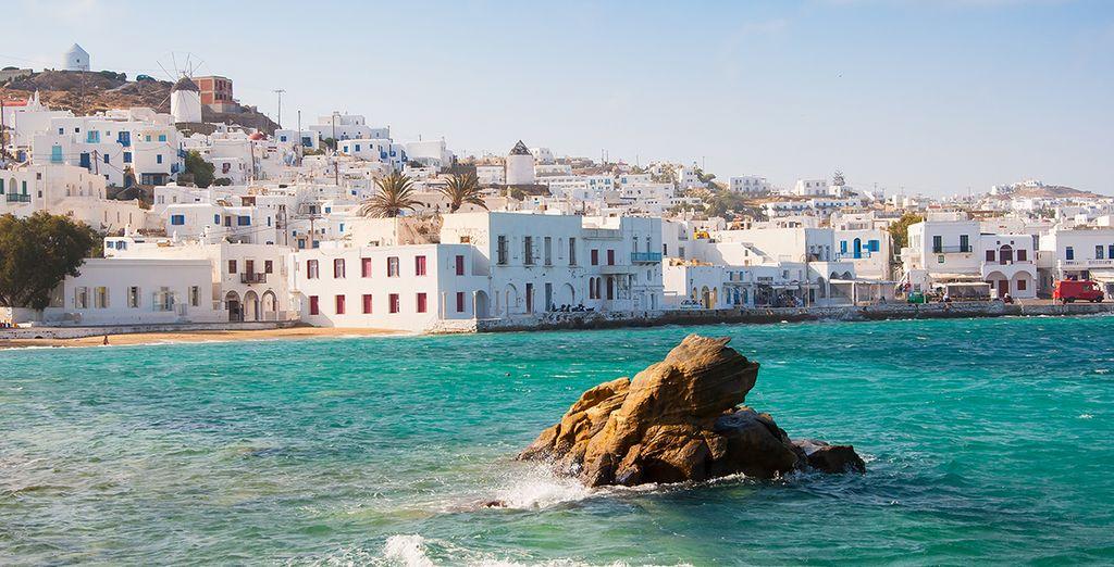 Avez-vous déjà séjourné sur l'île de Paros?