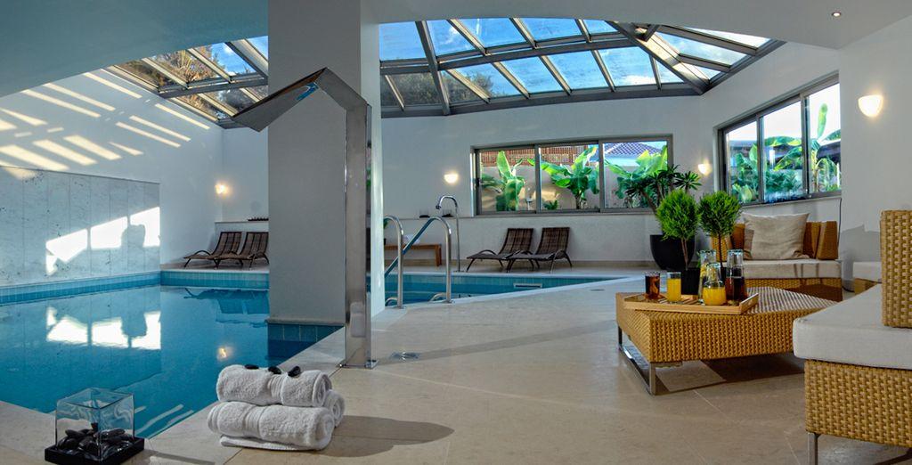 A vous offrir une vraie relaxation dans le Spa