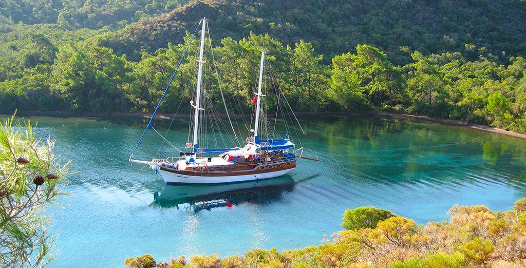 Et longez les plus belles côtes de Turquie...