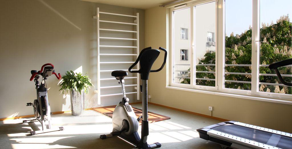 Et pour entretenir votre forme, rendez-vous dans la salle de Fitness