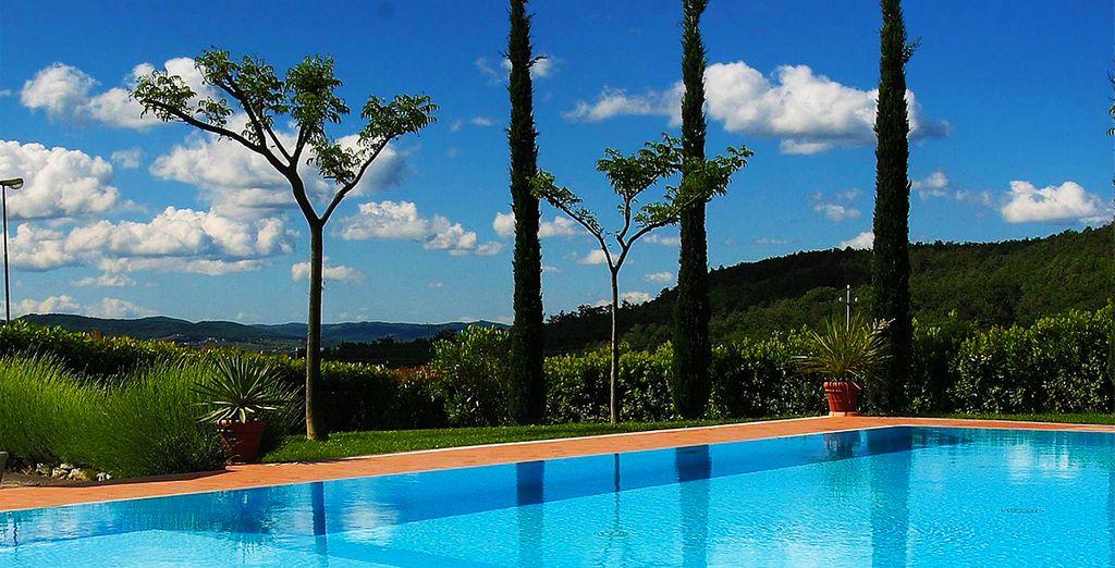 Envie de dolce vita, de verdure et de soleil ? - Villa La Grotta 4* San Giustino Valdarno