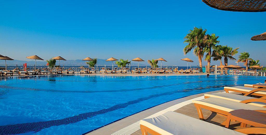 Prenez place sur la Riviera Turque...