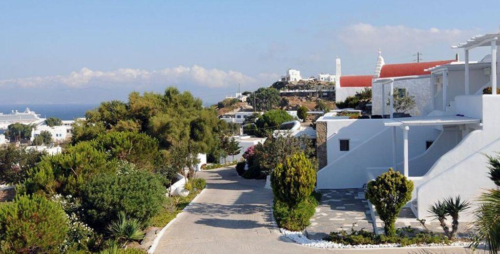 Un hôtel raffiné dans la baie de Mykonos - Boutique Hôtel Ostraco Suites 4* Mykonos