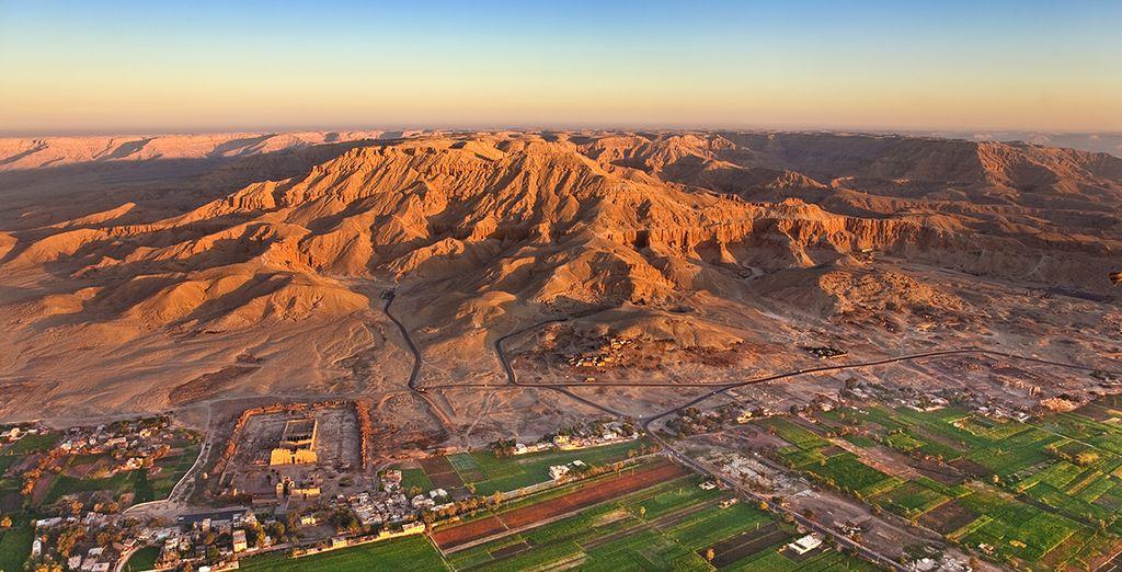 Pour admirer les merveilles de la vallée du Nil...