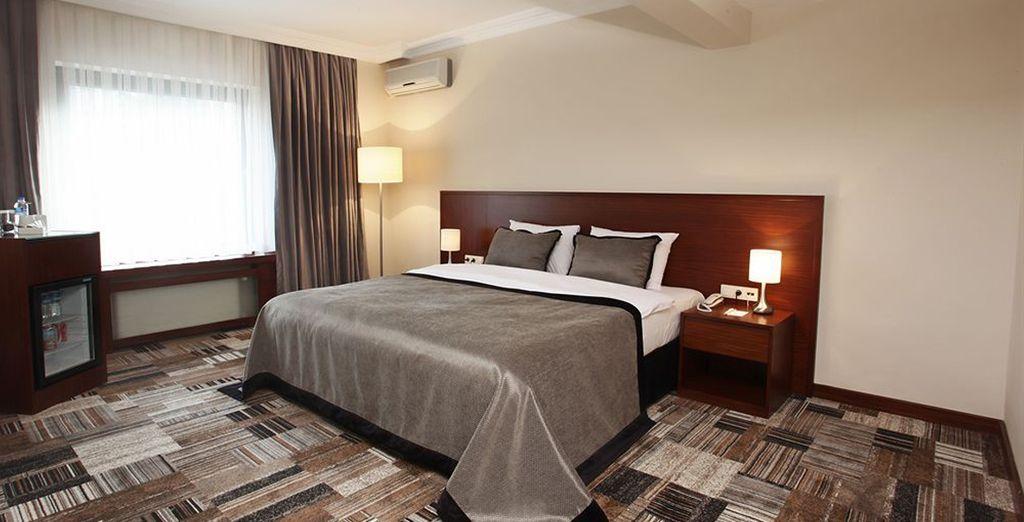 Puis vous poserez vos valises au Tiara Thermal Hôtel Bursa 4*...