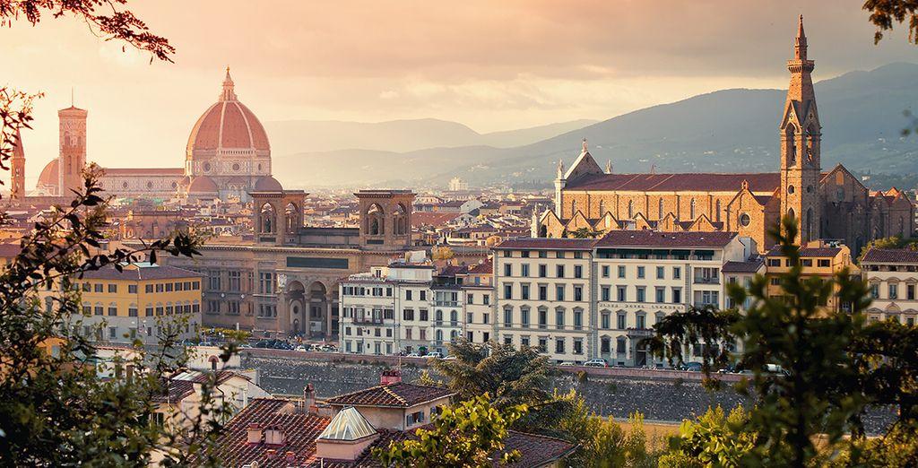 Selon le circuit de votre choix, tombez sous le charme de Florence...