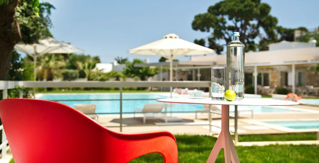 Avant de rejoindre le cadre verdoyant de votre hôtel... Bon séjour en Grèce !