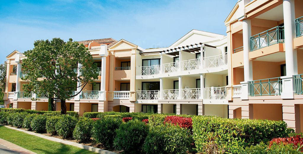 De cette résidence de standing idéale pour un séjour en famille ou entre amis !