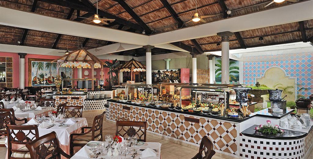 Votre formule tout inclus vous permettra de découvrir une cuisine savoureuse et internationale...