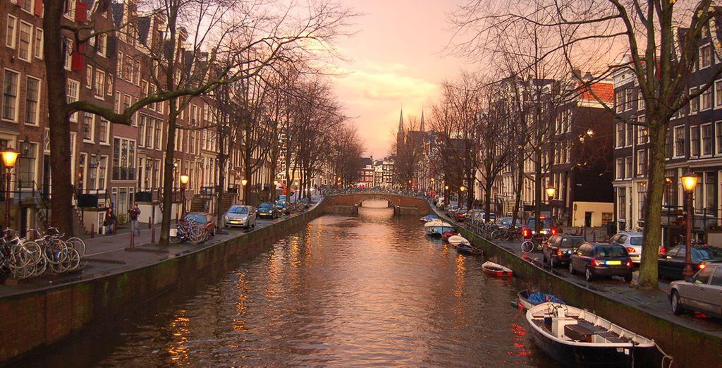 Avant de partir à la découverte d'Amsterdam...