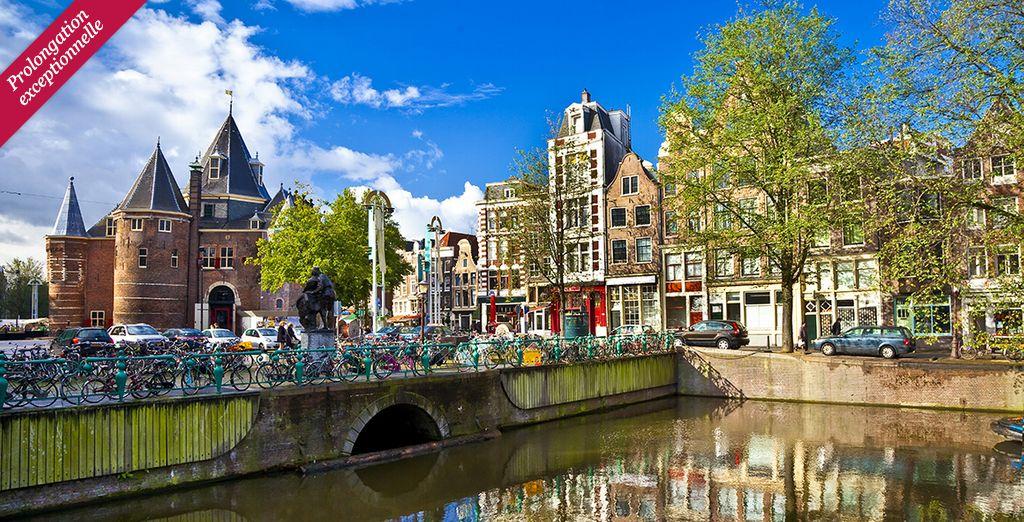 Et si vous partiez à la découverte d'Amsterdam ?