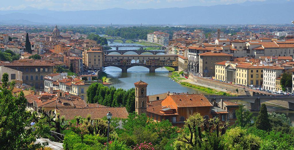 En passant par Florence, capitale mondiale de l'art...