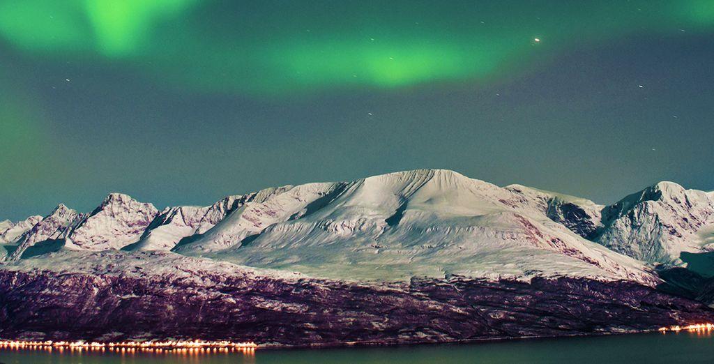 Les aurores boréales islandaises