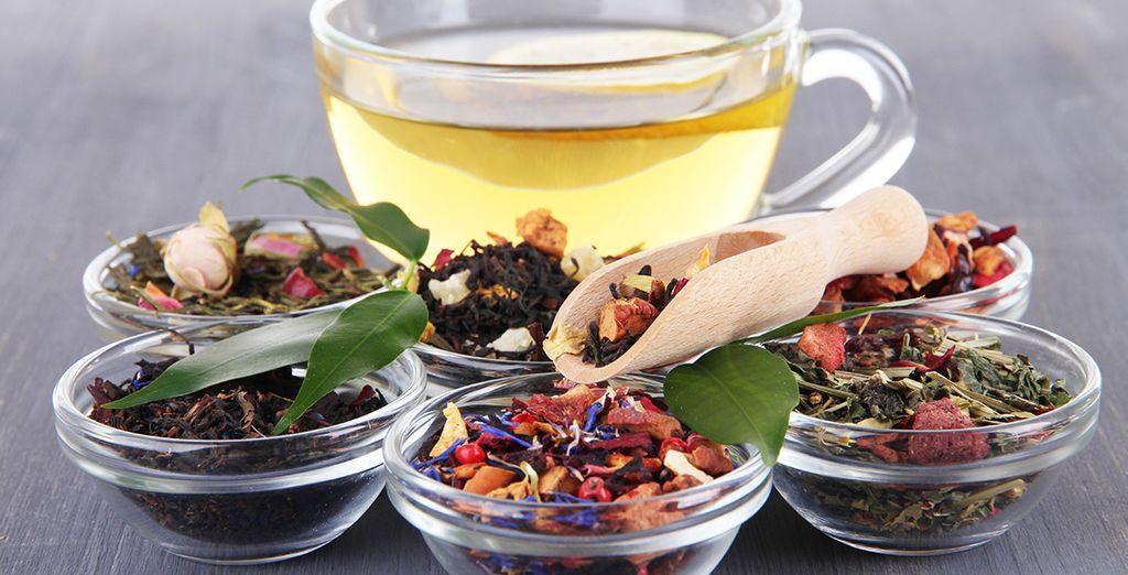 Et sirotez l'un des meilleurs thés au monde !
