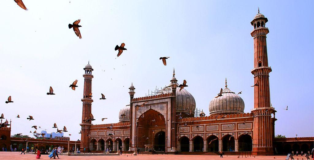 Dehli et sa sublime mosquée Jama Masjid - Circuit Inde & Varanasi - 11 jours/10 nuits Delhi