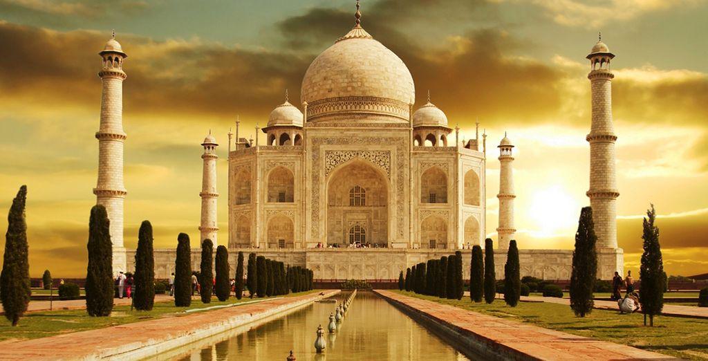Ou encore le légendaire Taj Mahal