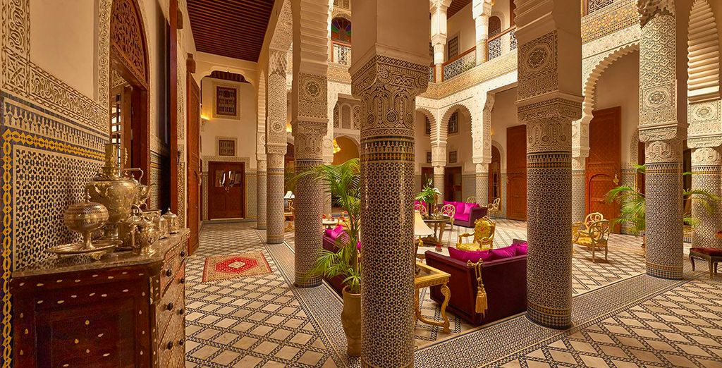 Le Riad Fès, à l'atmosphère intime...