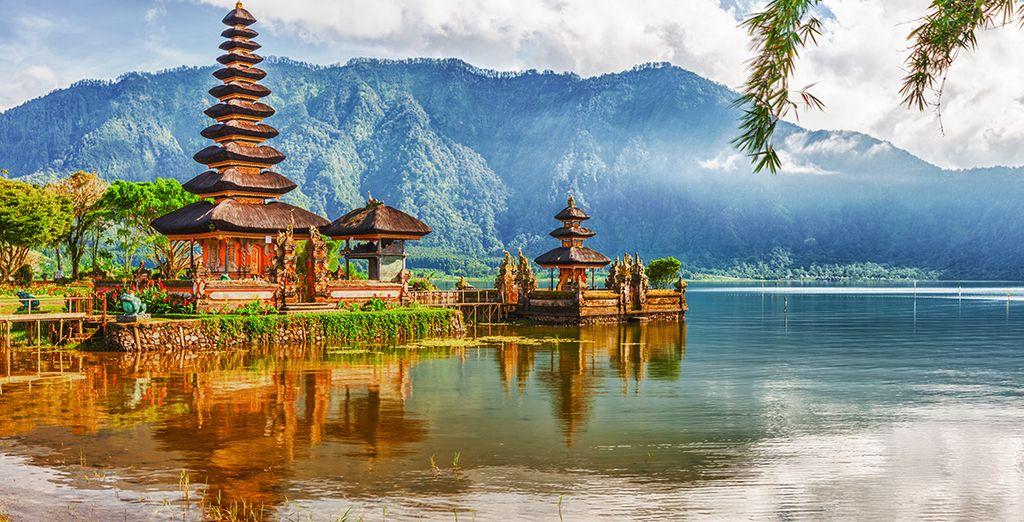 Et ouvrez grands les yeux et admirer les paysages de Bali