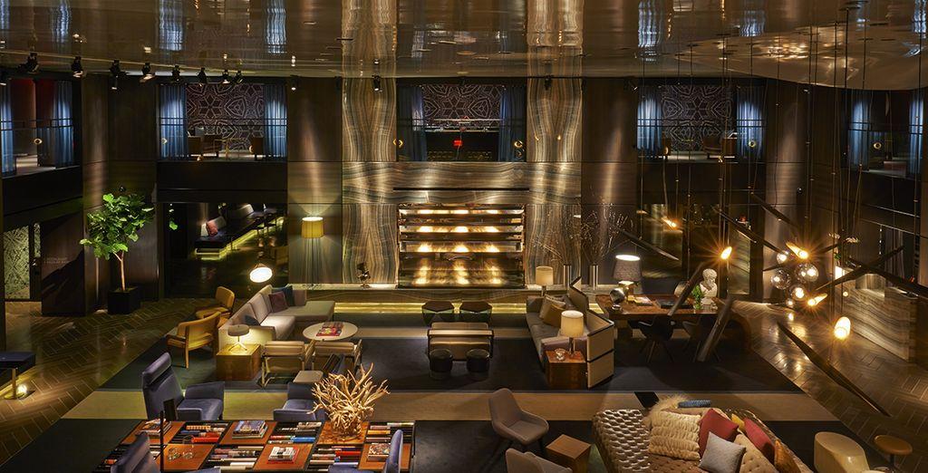 Vous prendrez place dans ce magnifique hôtel au cachet incomparable - Réveillon à New-York - Paramount Hotel Times Square 4* New York