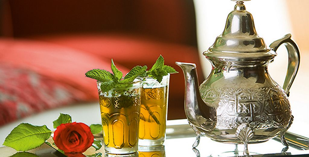Vous serez accueilli en VIP avec un traditionnel thé à la menthe