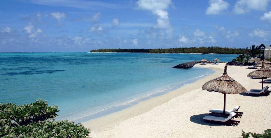 Ou relaxez-vous au son des vagues sur la plage