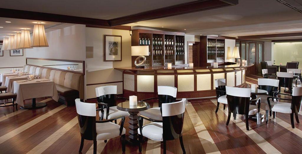 Ou vers le Restaurant Aqua, pour différentes découvertes culinaires