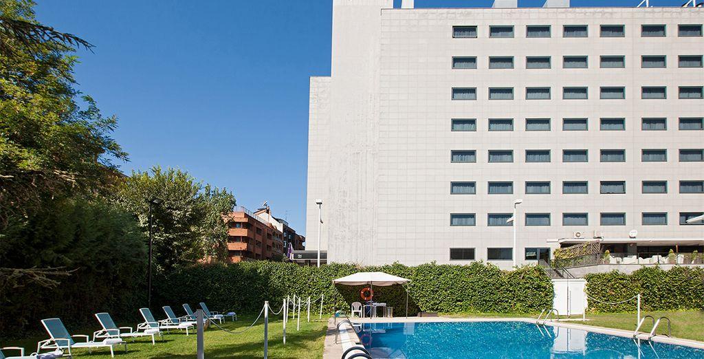 Nous avons pour vous un parfait pied-à-terre : 'hôtel NH Parque Avenidas