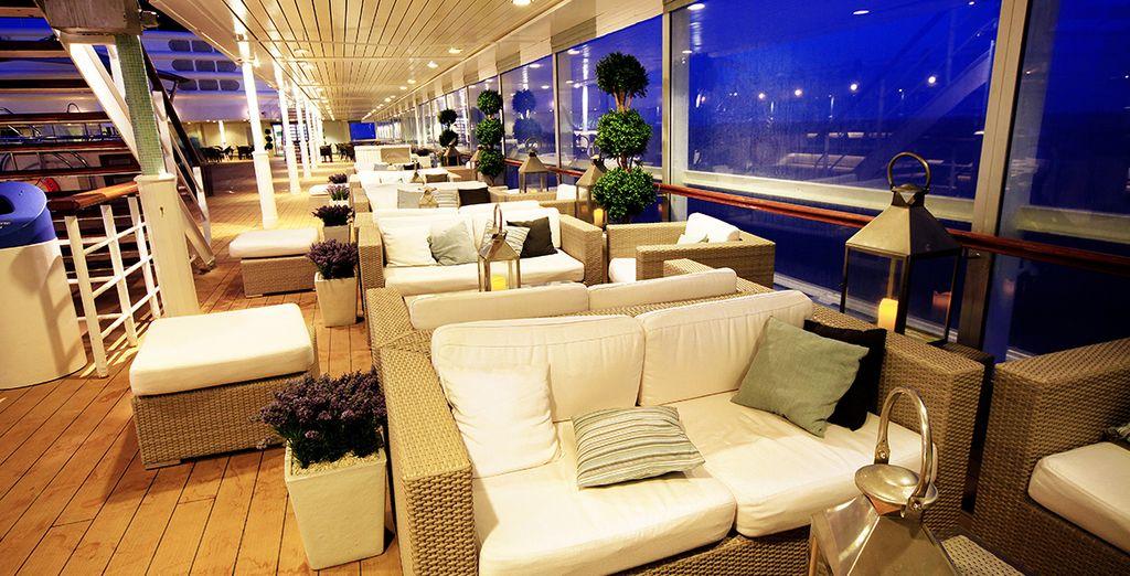 Détendez-vous dans le Lounge...