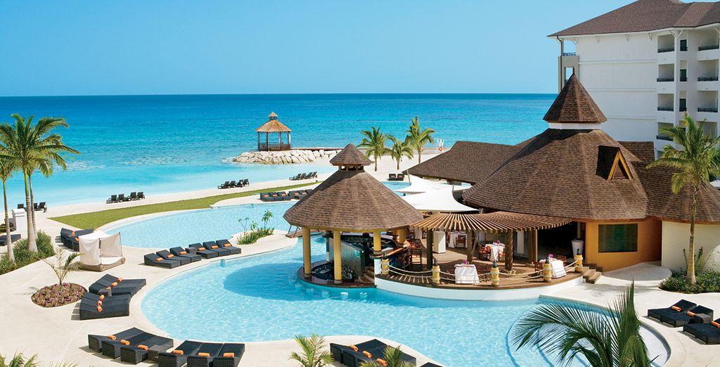 L'hôtel Secrets Wild Orchid vous accueille dans un cadre idyllique