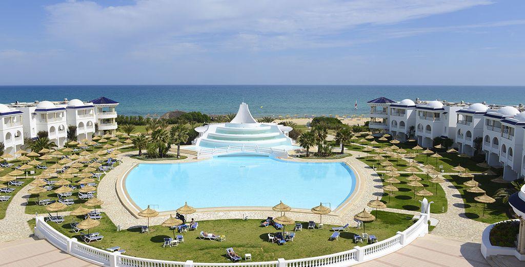 Bienvenue sous le soleil d'Hammamet - Hôtel Vincci Taj Sultan 5* Hammamet