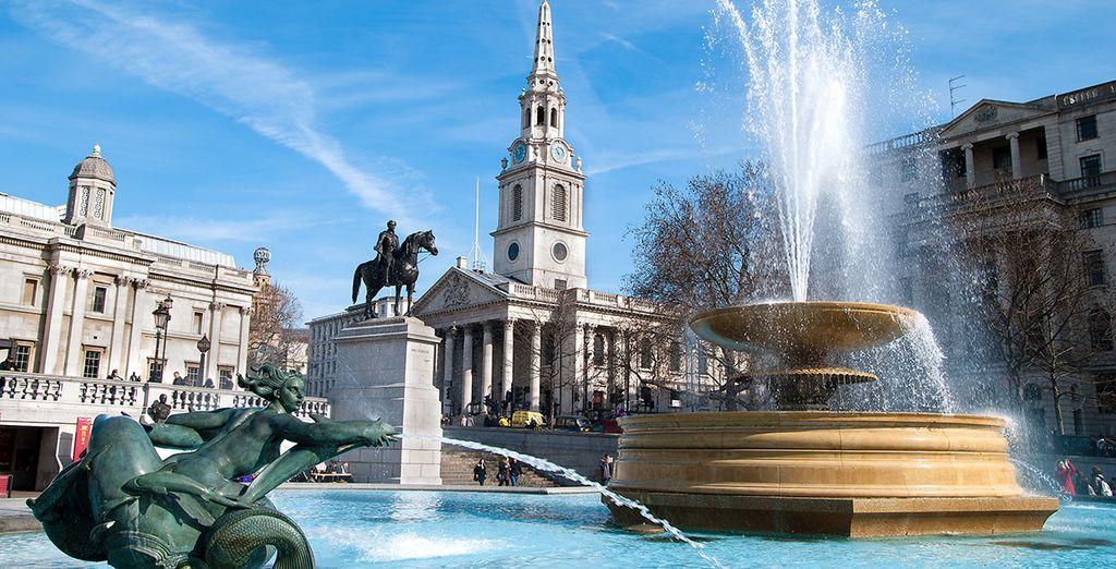 Et des momunents incontournables comme Trafalgar Square...