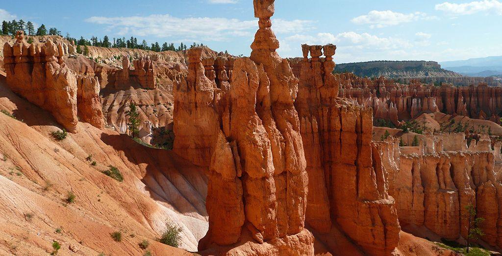 L'époustouflant Bryce Canyon...