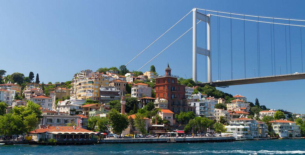 Et bien d'autres splendeurs sur les rives du Bosphore. Bon séjour en Turquie !