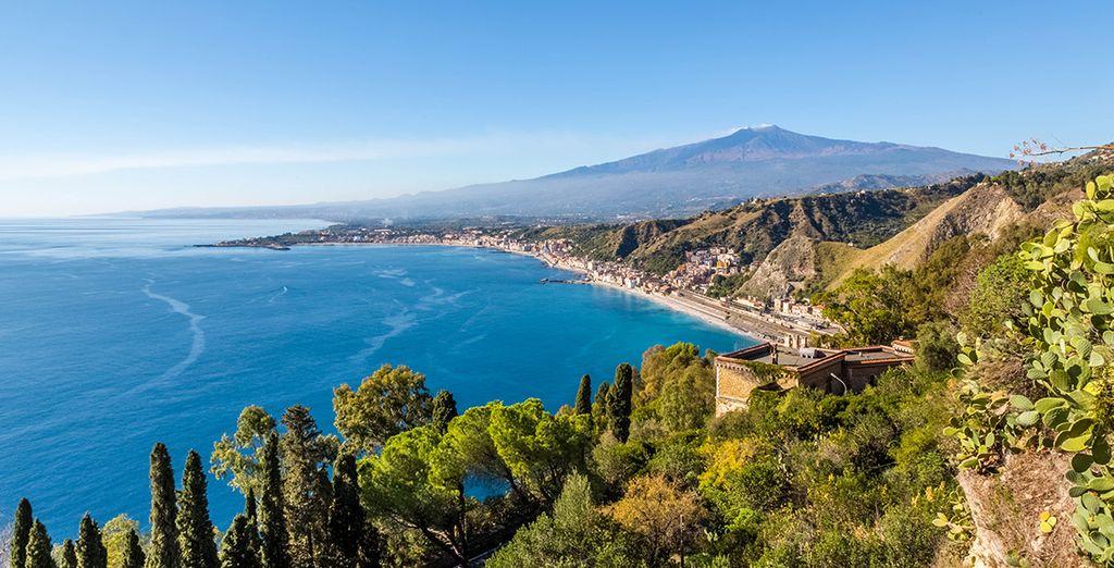 Ne manquez pas de passer une journée sur la côte de Taormine
