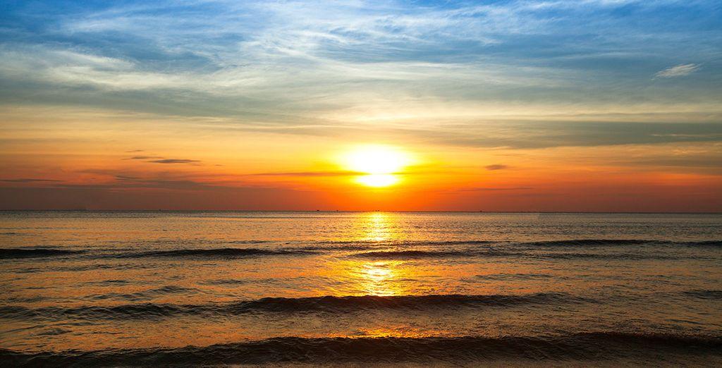 Alors finissez votre séjour en beauté dans le Golfe de Siam... 3...2...1... Vous y êtes !