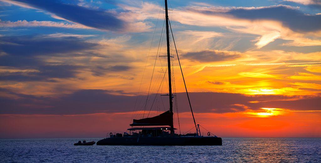 Croisière en catamaran...